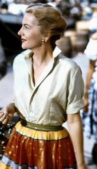 Joan Fontaine at 40, in