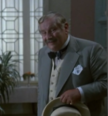 Ustinov arrives