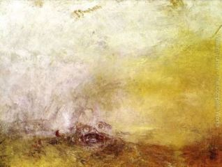 Sunrise with Sea Monsters, by Turner