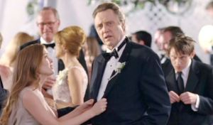 Walken and his family of cliches: sex-crazed daughter Isla Fisher, sex-crazed wife, Jane Seymour; gay son, Keir O'Donnell